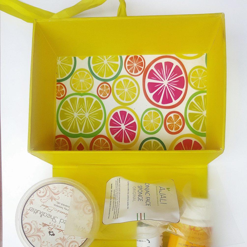 Skin care  Unboxing the Albimazing box