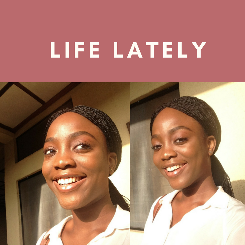 Life Lately + My 1 Year Blogiversary