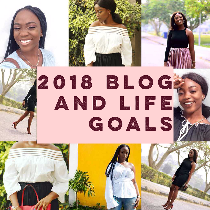 2018 Blog & Life goals + 2017 Outfits and Giveaway