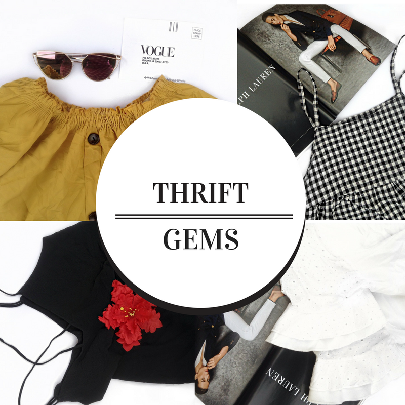 Thrift Gems + 3 tips that will change your thrifting game