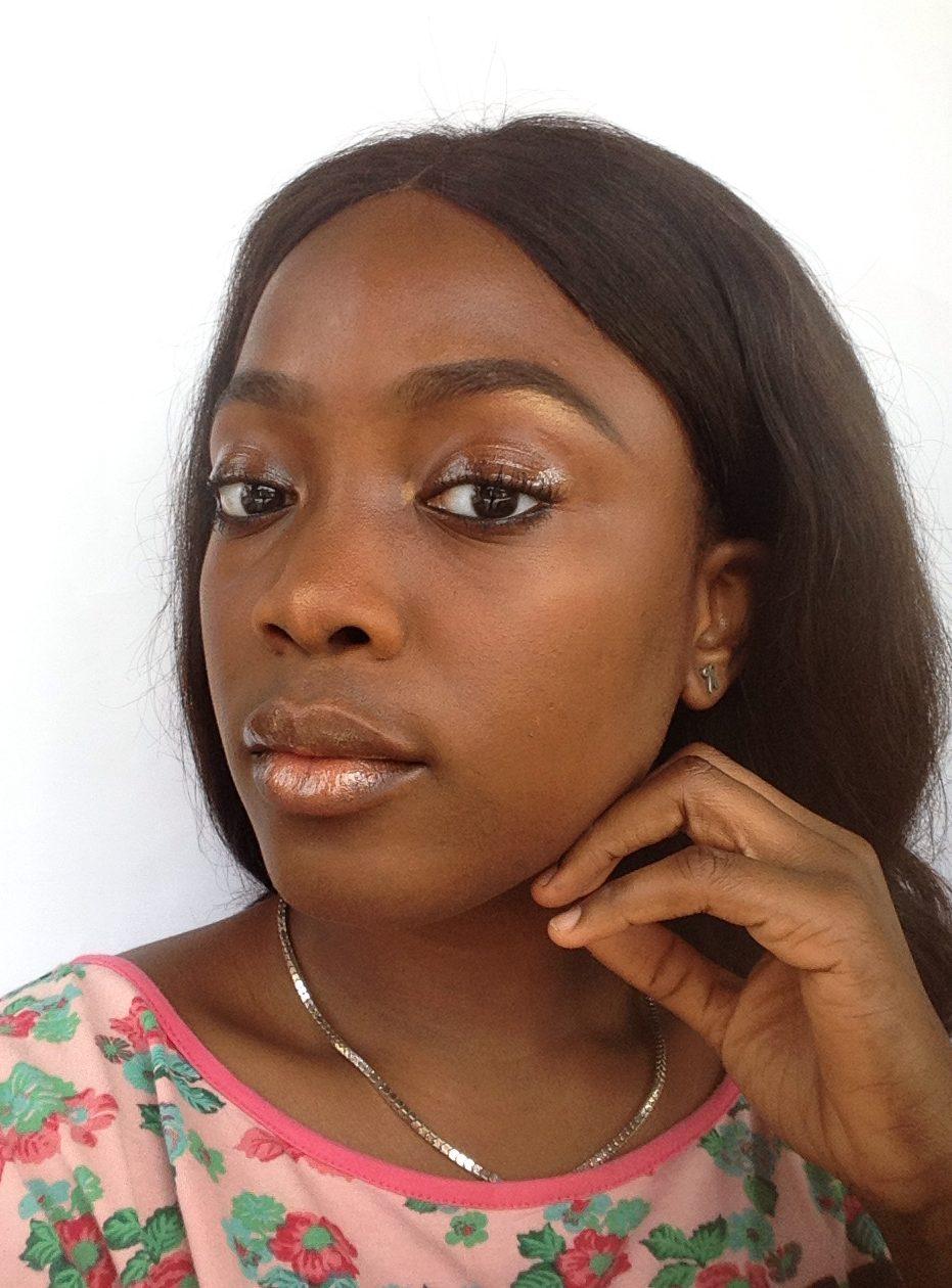 No makeup, Makeup look ft Glossy Lids